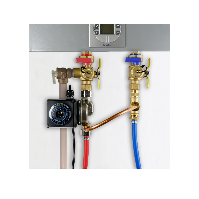 Recirculation Systems Single Speed Spa Circulation Pump Wiring Diagram Aqua Flash For Tankless Amh1k 6uvzt1